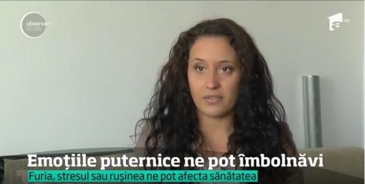 Andra Tanasescu - Antena 1 - Impactul emotiilor asupra corpului